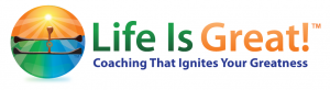 Life is Great! Coaching that ignites your greatness logo