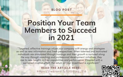 Position Your Team Members to Succeed in 2021 – Column #216